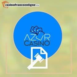 Azur casino en ligne français